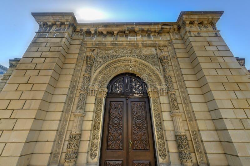 朱马清真寺-巴库,阿塞拜疆 免版税库存图片