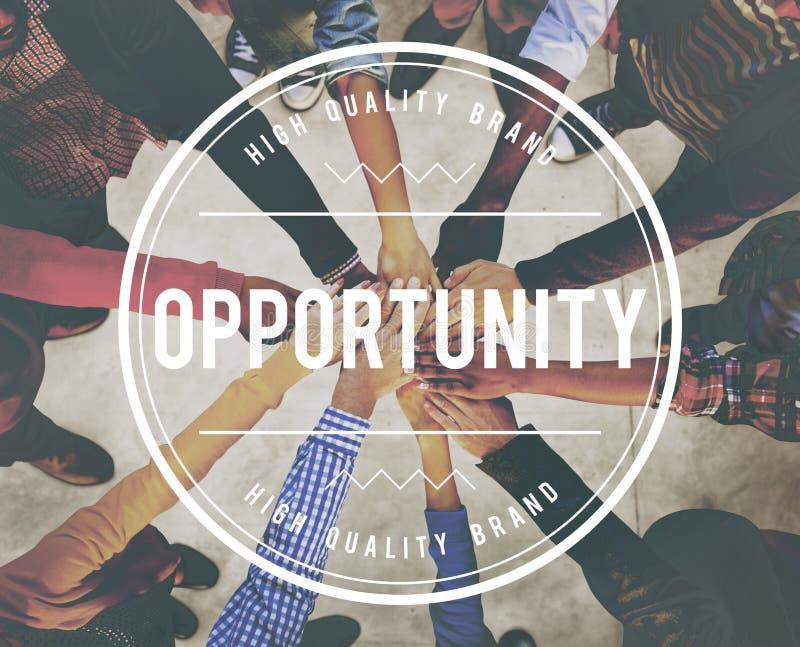 机会成就不可能的发展概念 免版税库存照片