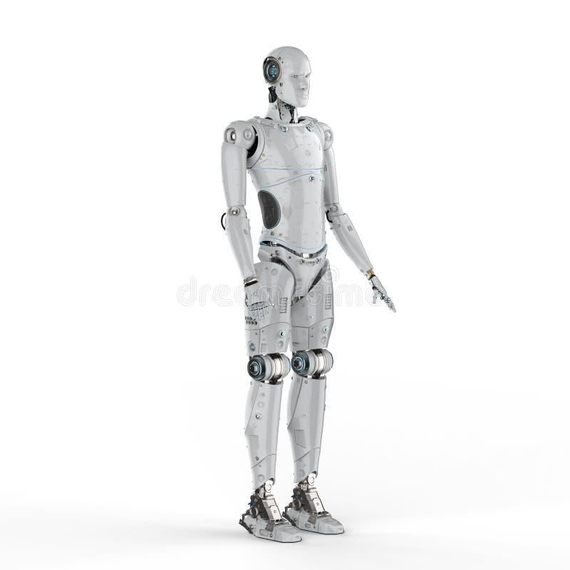 机器人充分的身体 向量例证