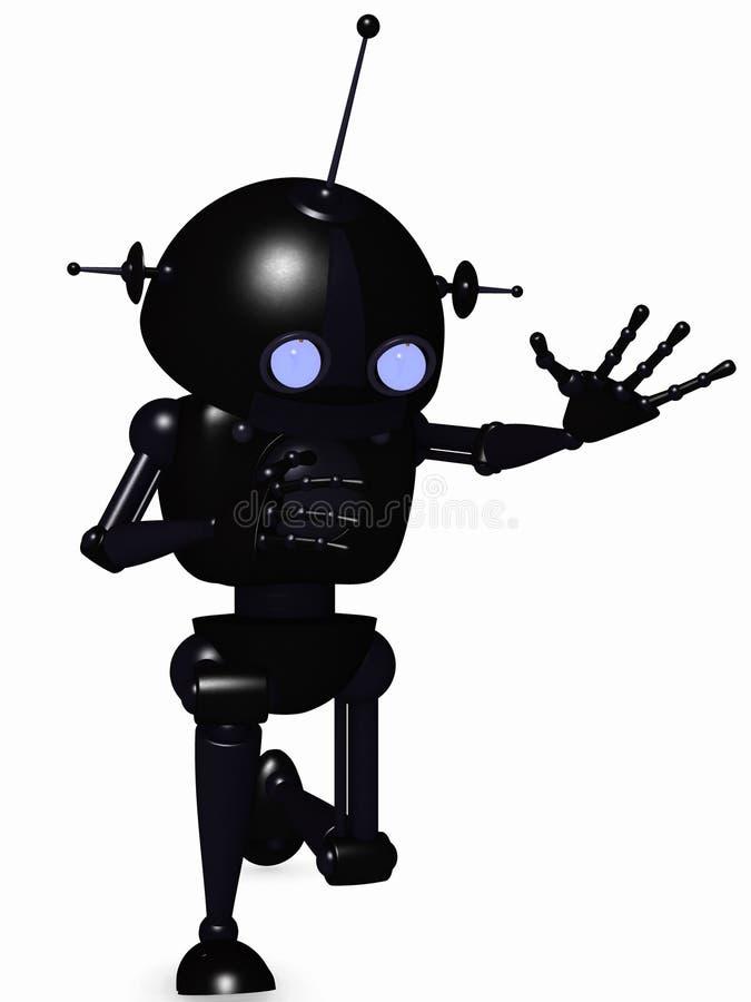 机器人印度桃花心木 向量例证
