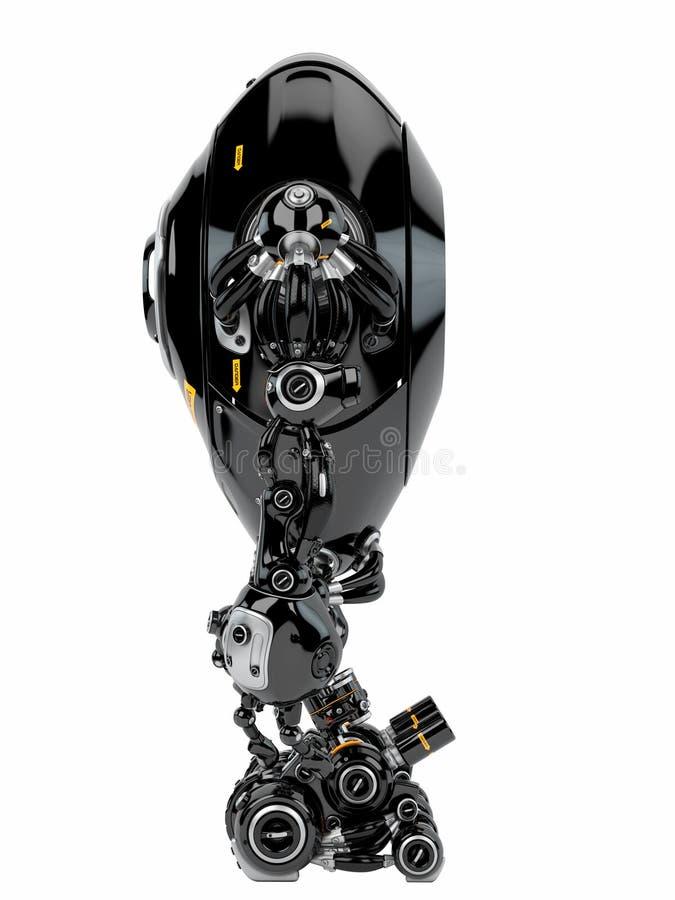 机器人生物 向量例证