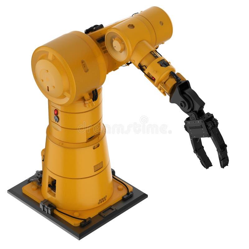 机器人胳膊或机器人手 库存例证