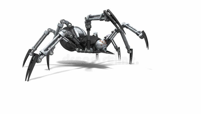 机器人蜘蛛 向量例证