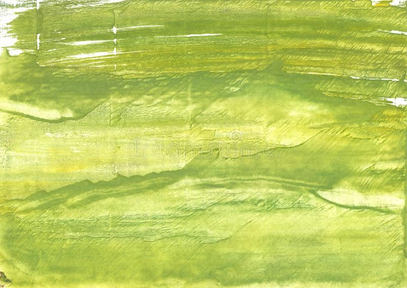 机器人绿色抽象水彩背景 库存照片
