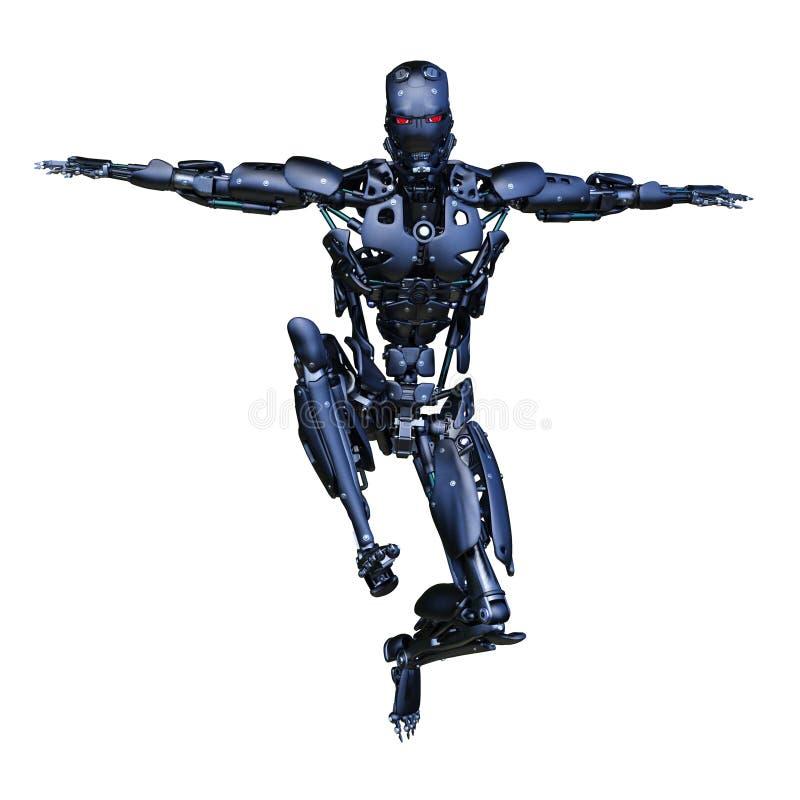 机器人 库存例证