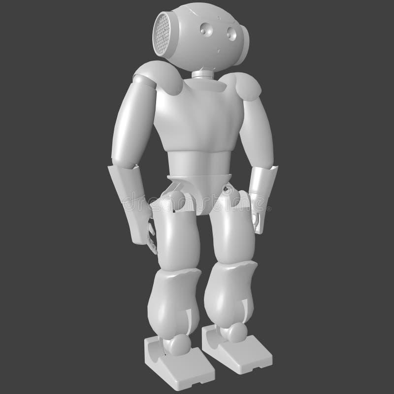 6机器人 免版税库存照片