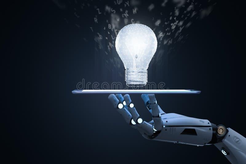 机器学习概念 库存例证