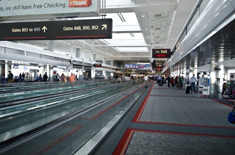 机场丹佛内部国际 图库摄影