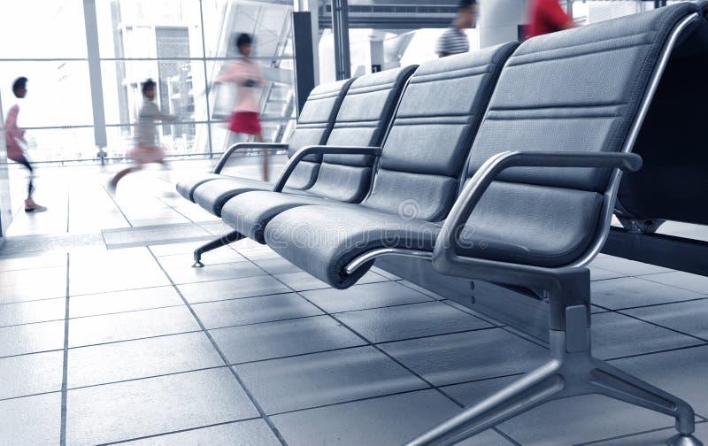 机场乘客 图库摄影