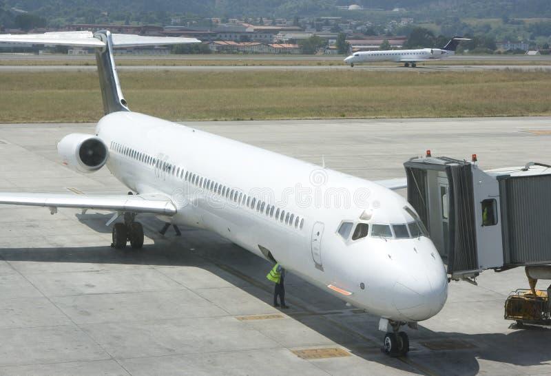 机场企业终端 免版税图库摄影