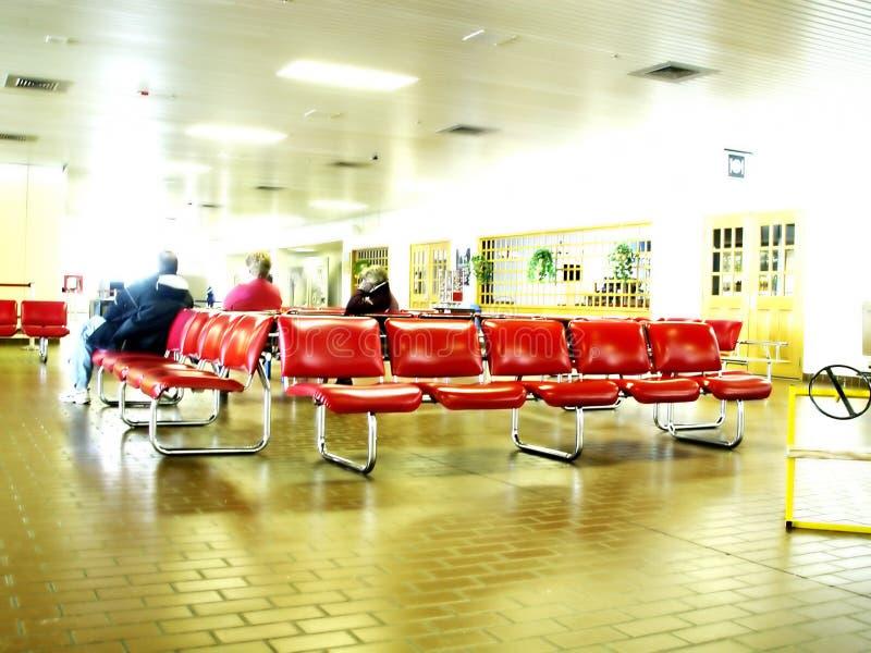 机场休息室 免版税库存图片