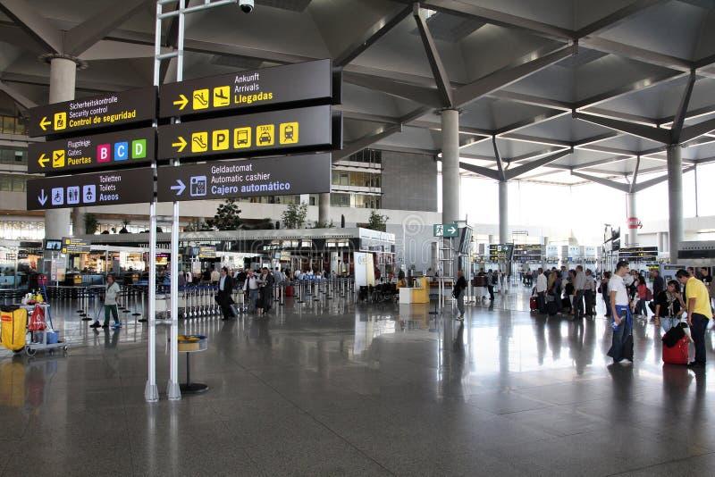 机场内部 库存照片