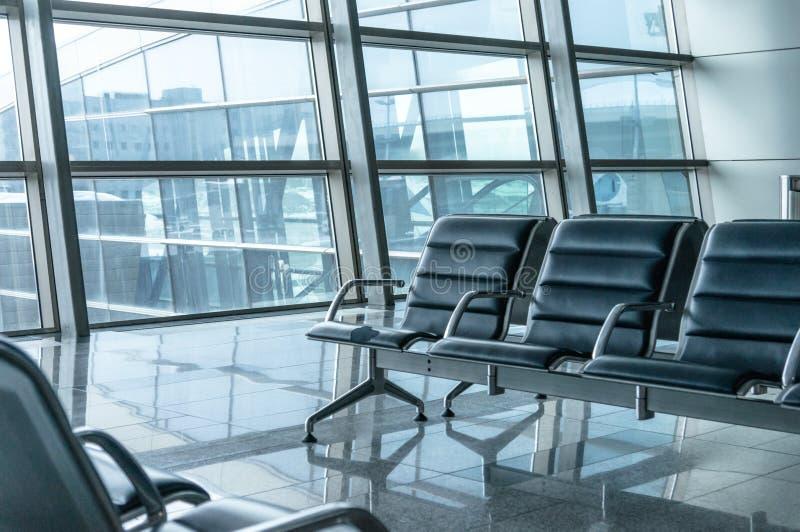 机场区等待 库存照片