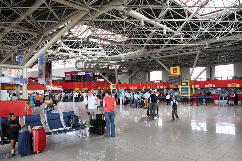 机场哈瓦那 库存图片