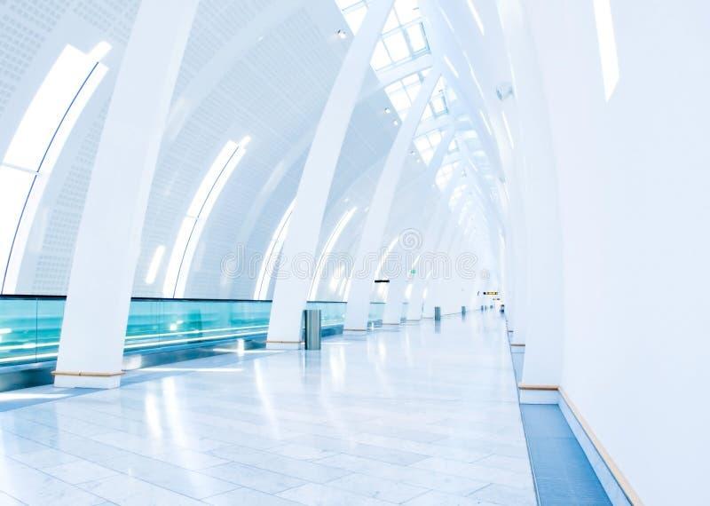 机场哥本哈根走道 库存照片