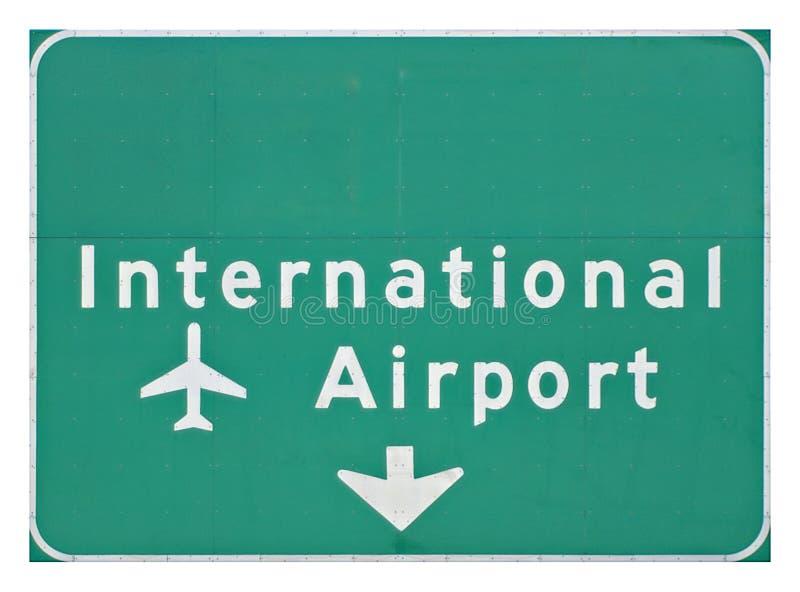 机场国际符号 免版税库存照片