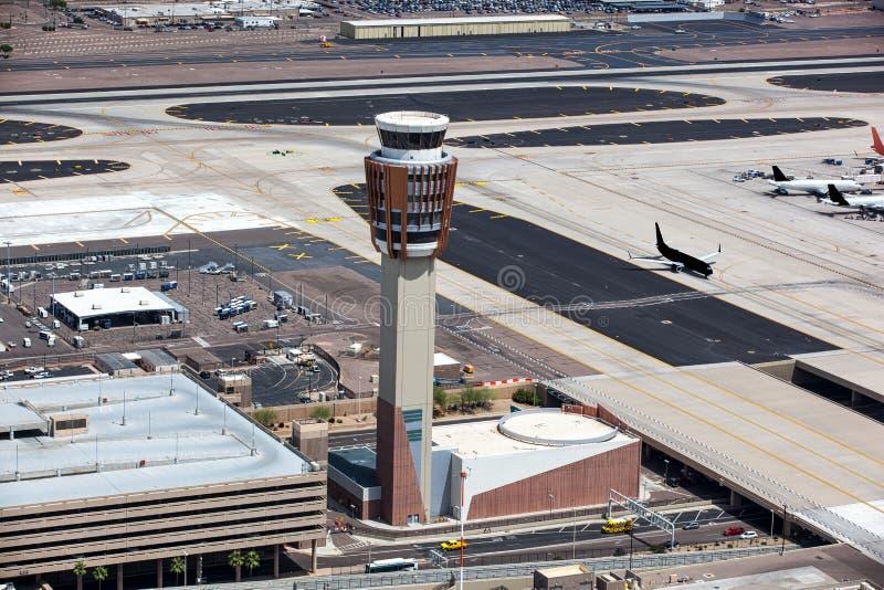 机场塔台 库存图片