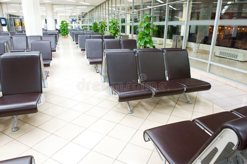 机场就座 免版税库存图片