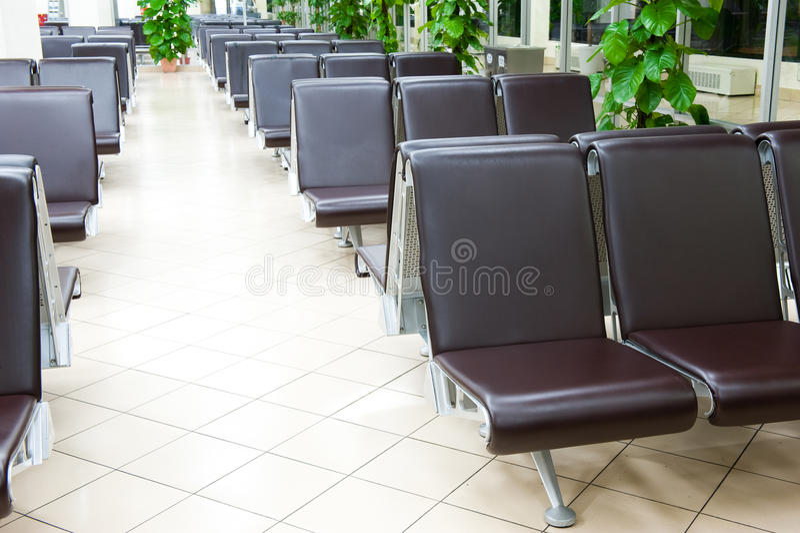 机场就座 库存图片