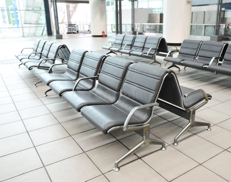 机场就座 免版税图库摄影