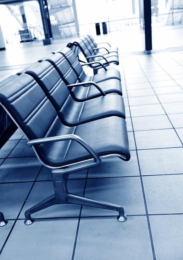 机场就座 免版税库存照片