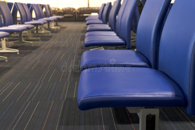 机场座椅,客厅 库存照片
