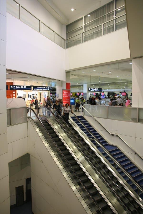 机场悉尼 免版税图库摄影