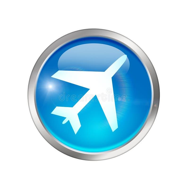 机场符号 向量例证