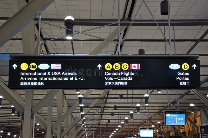 机场符号 免版税库存照片