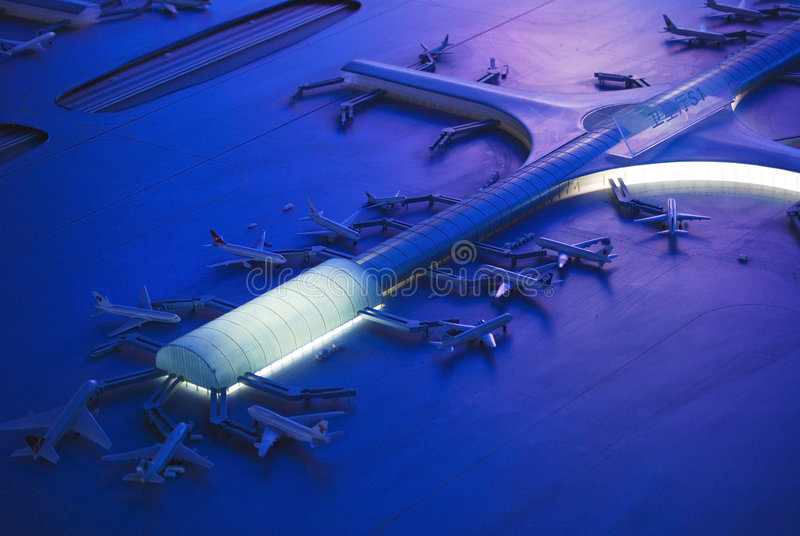 机场终端 图库摄影