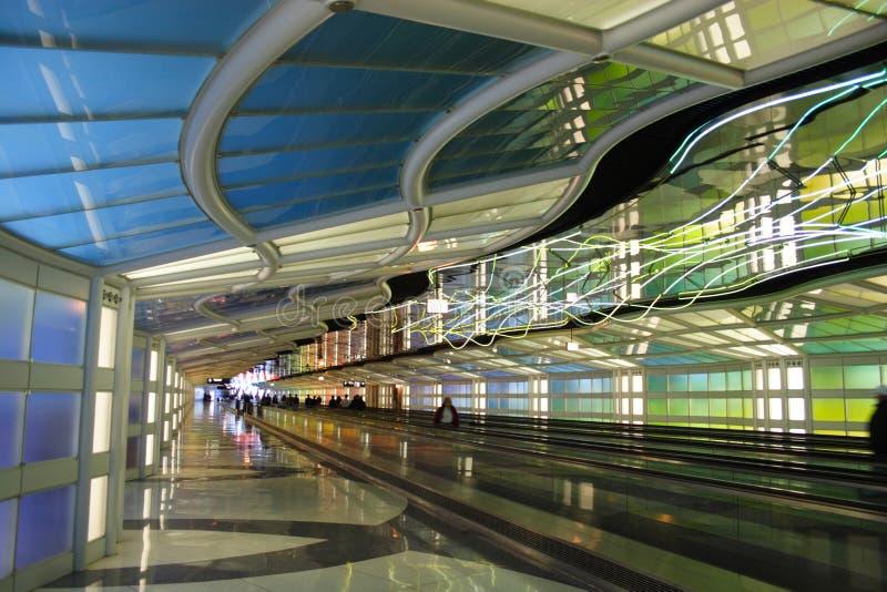 机场芝加哥 免版税库存照片