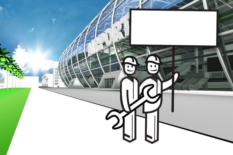 Download 机场赌金保管人 库存例证. 插画 包括有 alamos, 宣布, 启运, 有氧地, 缓和, 大厅, 飞行 - 62535509