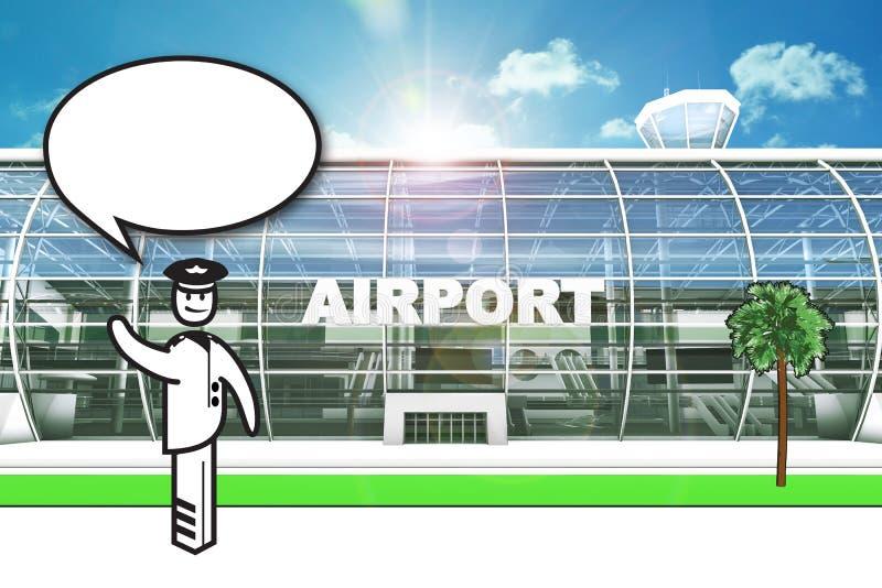 Download 机场赌金保管人 库存例证. 插画 包括有 介绍, 调解人, 组合证券, 到达, alameda, 自定义 - 62535578