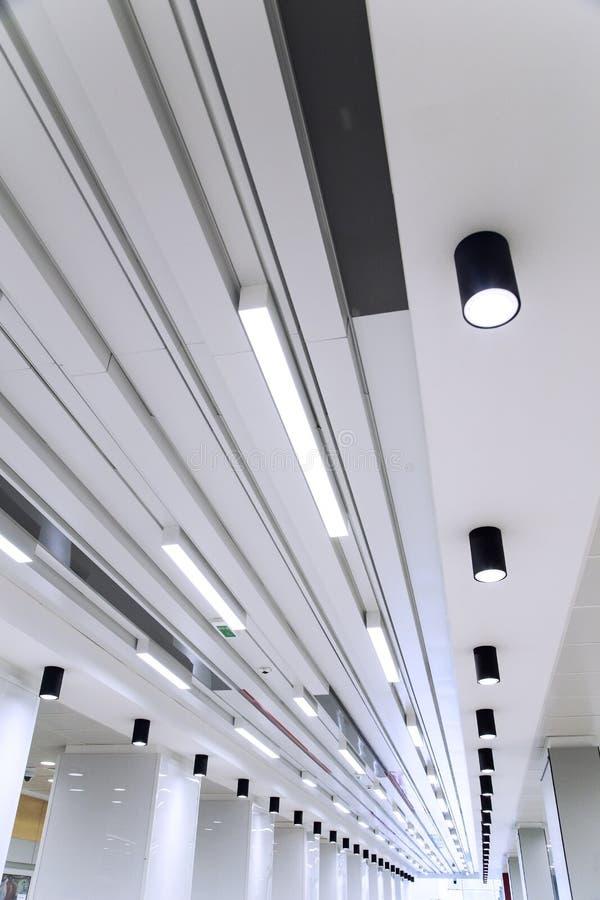 机场走廊 免版税库存图片