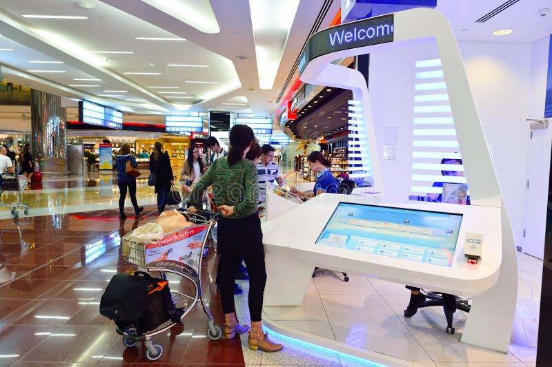机场迪拜国际 免版税库存图片