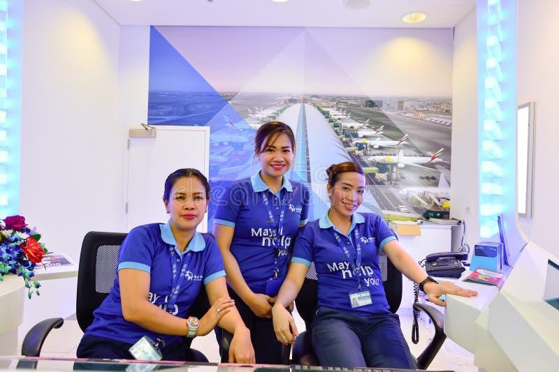 机场迪拜国际 库存图片