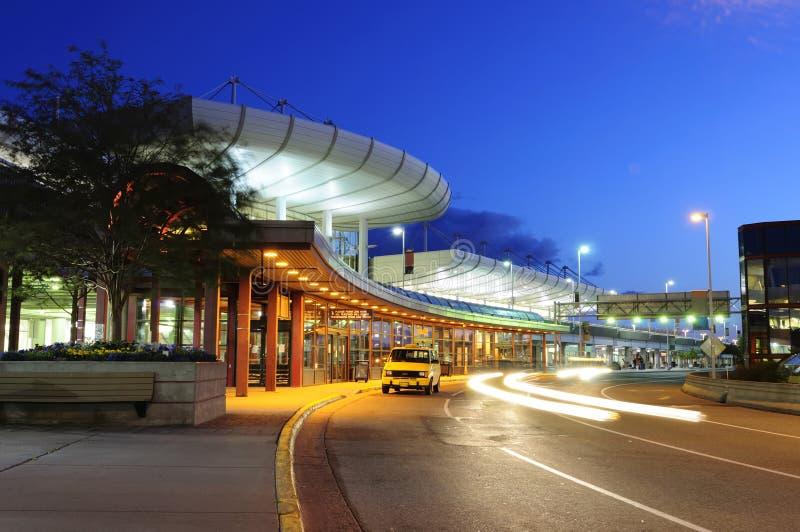 机场阿拉斯加定住国际 免版税库存图片