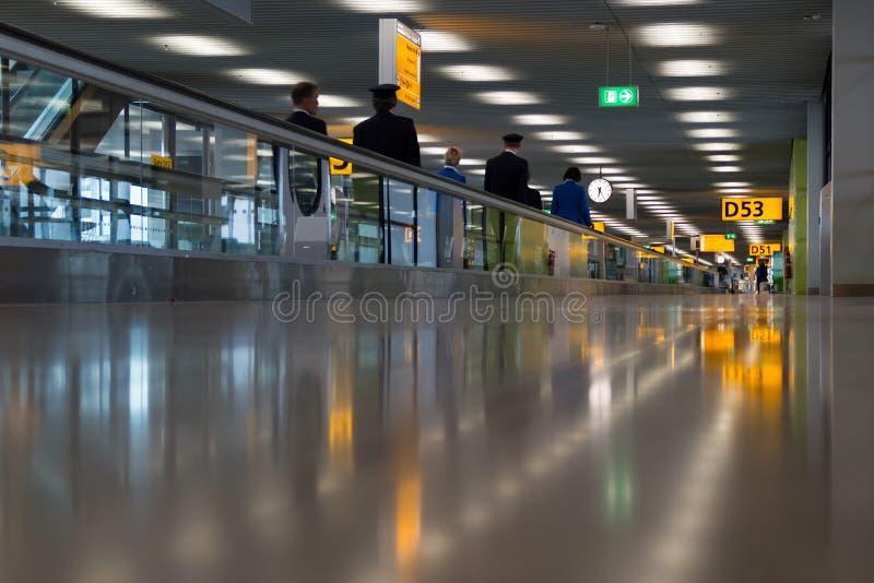 机场飞行员 库存照片