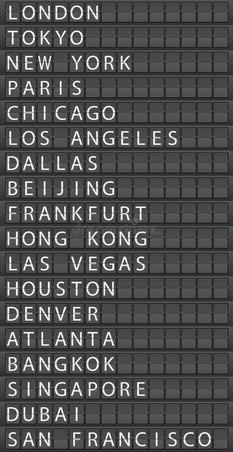 机场 库存例证
