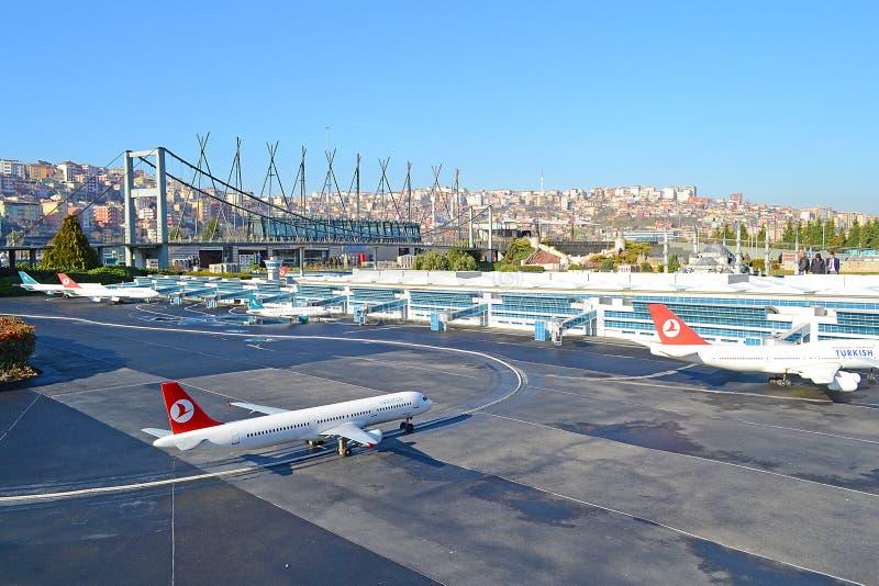 机场ataturk国际 库存照片