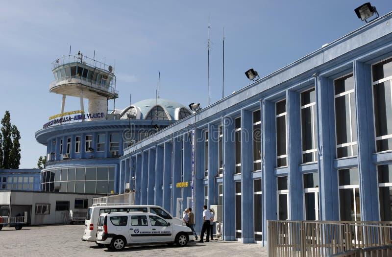 机场aurel baneasa布加勒斯特vlaicu 库存照片