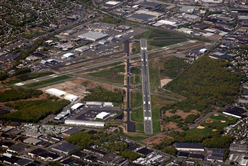 机场teterboro 免版税图库摄影