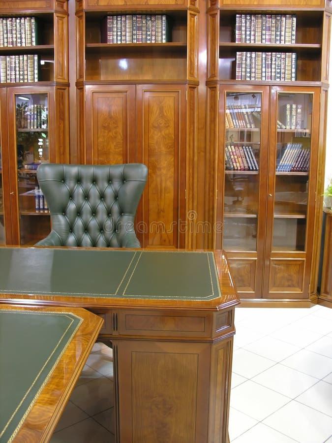 机柜图书馆 库存照片