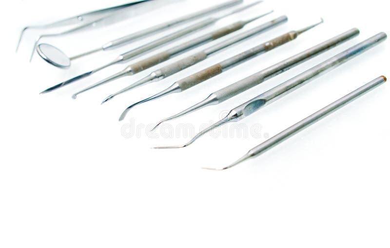 机柜牙齿仪器stomatologies 免版税库存照片