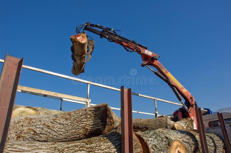 机械木头 免版税库存图片