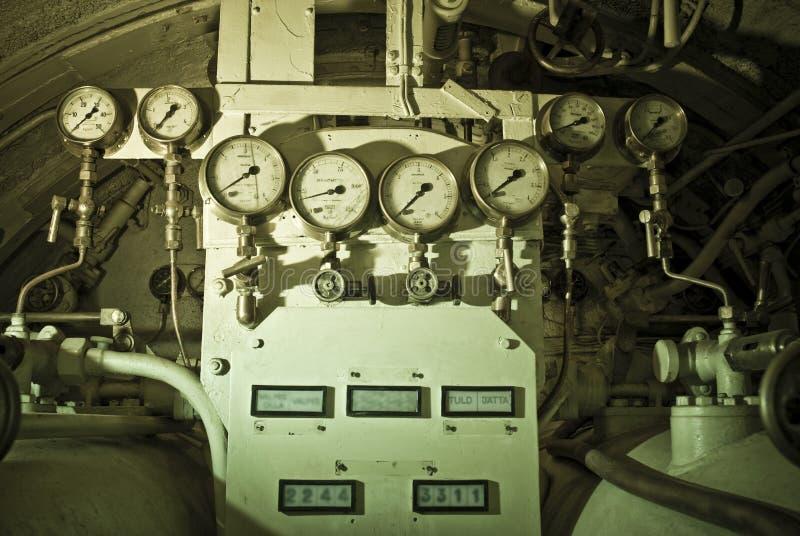 机械潜水艇 免版税库存照片