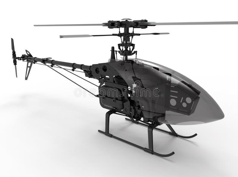 机械玩具直升机例证 向量例证
