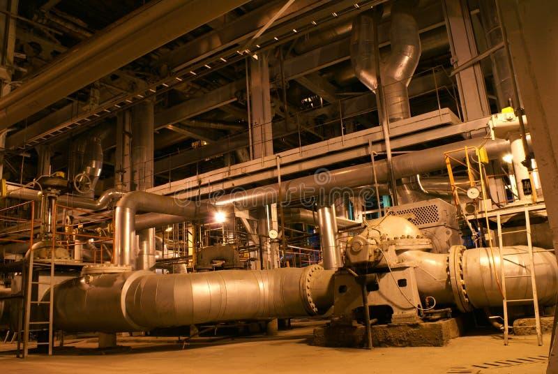 机械用管道输送泵管 库存照片