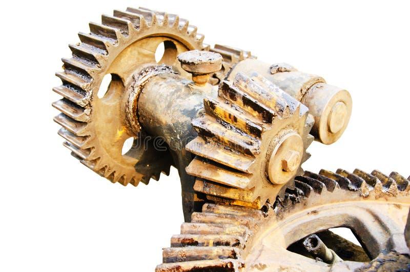 机械的齿轮 免版税库存照片