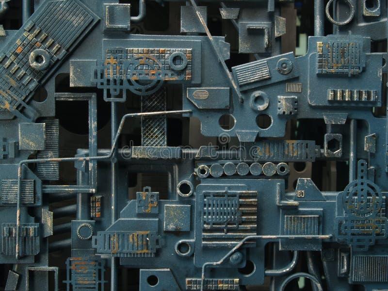 机械纹理 免版税库存图片